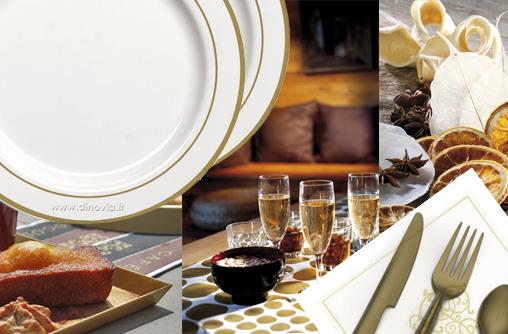 assiettes jetables pour fetes table de lit. Black Bedroom Furniture Sets. Home Design Ideas