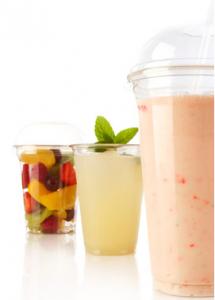 Gobelet transparent POLARITY pour la vente de smoothies et boissons froides