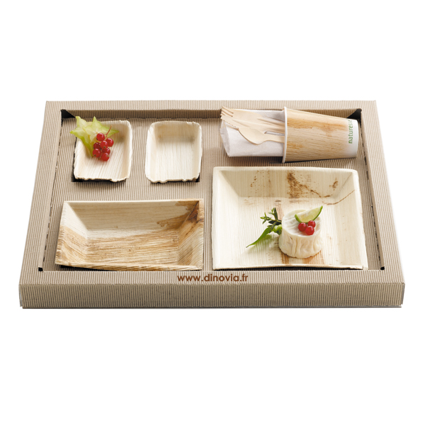 plateau repas cologique vaisselle jetable et d coration de table. Black Bedroom Furniture Sets. Home Design Ideas