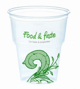 gobelet plastique imprimé logo marquage