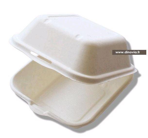 emballage hamburger biodégradable