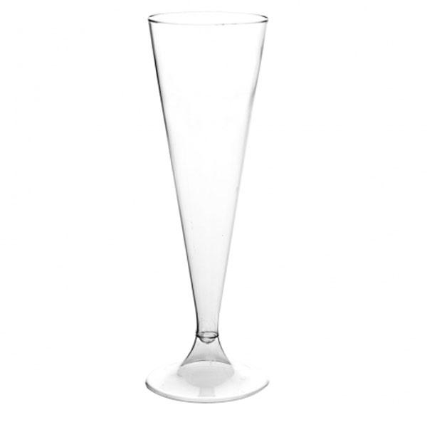 flute à champagne plastique pas cher | dinovia - vaisselle jetable