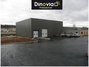 La logistique, point central et essentiel pour Dinovia