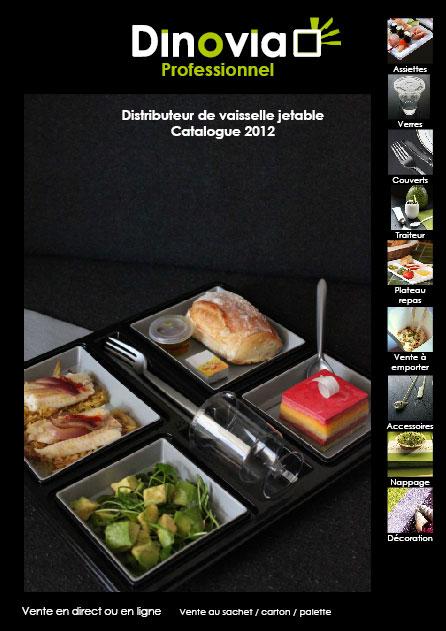 Professionnel vaisselle jetable Dinovia Pro 2012