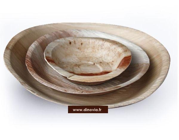 assiette bois vaisselle jetable et d coration de table. Black Bedroom Furniture Sets. Home Design Ideas