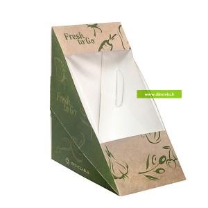 barquette alimentaire compostable et écologique