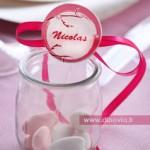 Mariage rose et pastel
