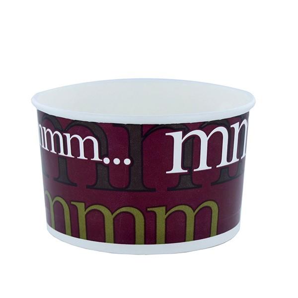 pot soupe jetable carton de 40 cl avec couvercle pp pour la vente emporter et professionnels. Black Bedroom Furniture Sets. Home Design Ideas