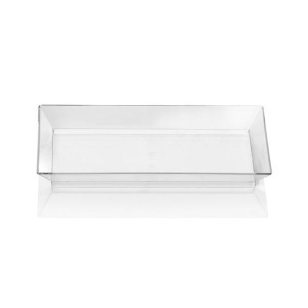 assiette plastique jetable transparente