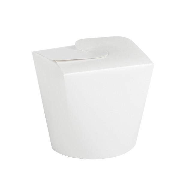 Boite carton DELI blanc 50 cl par 500