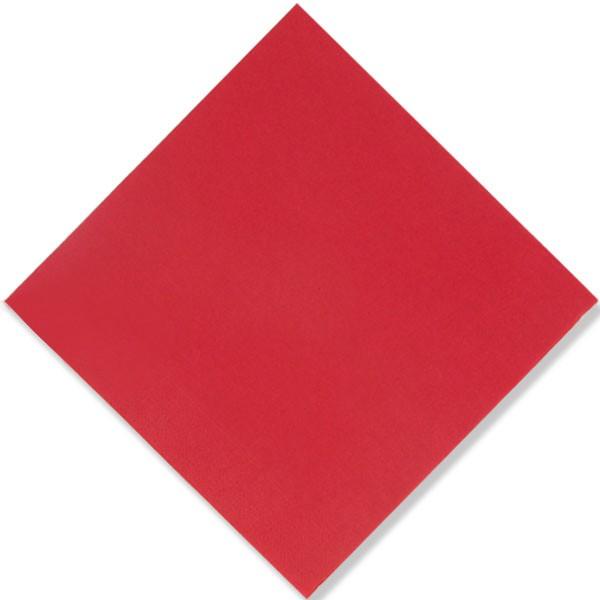 Serviette FIESTA Apple Red 40 cm