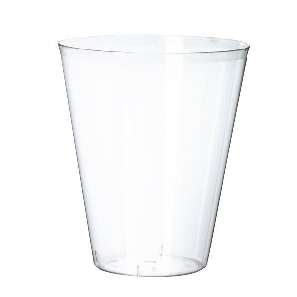 verre jetable plastique transparent 20 cl