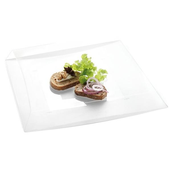 Assiette jetable ONDEO Transparente 27 cm VRAC