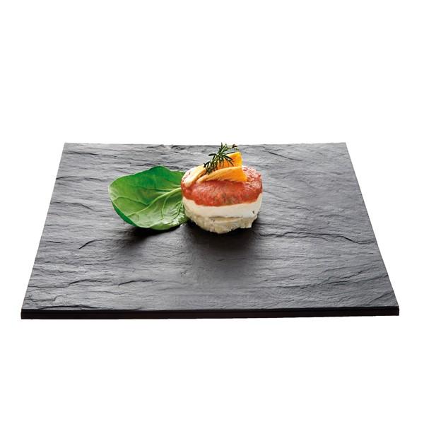 assiette imitation ardoise 27 cm