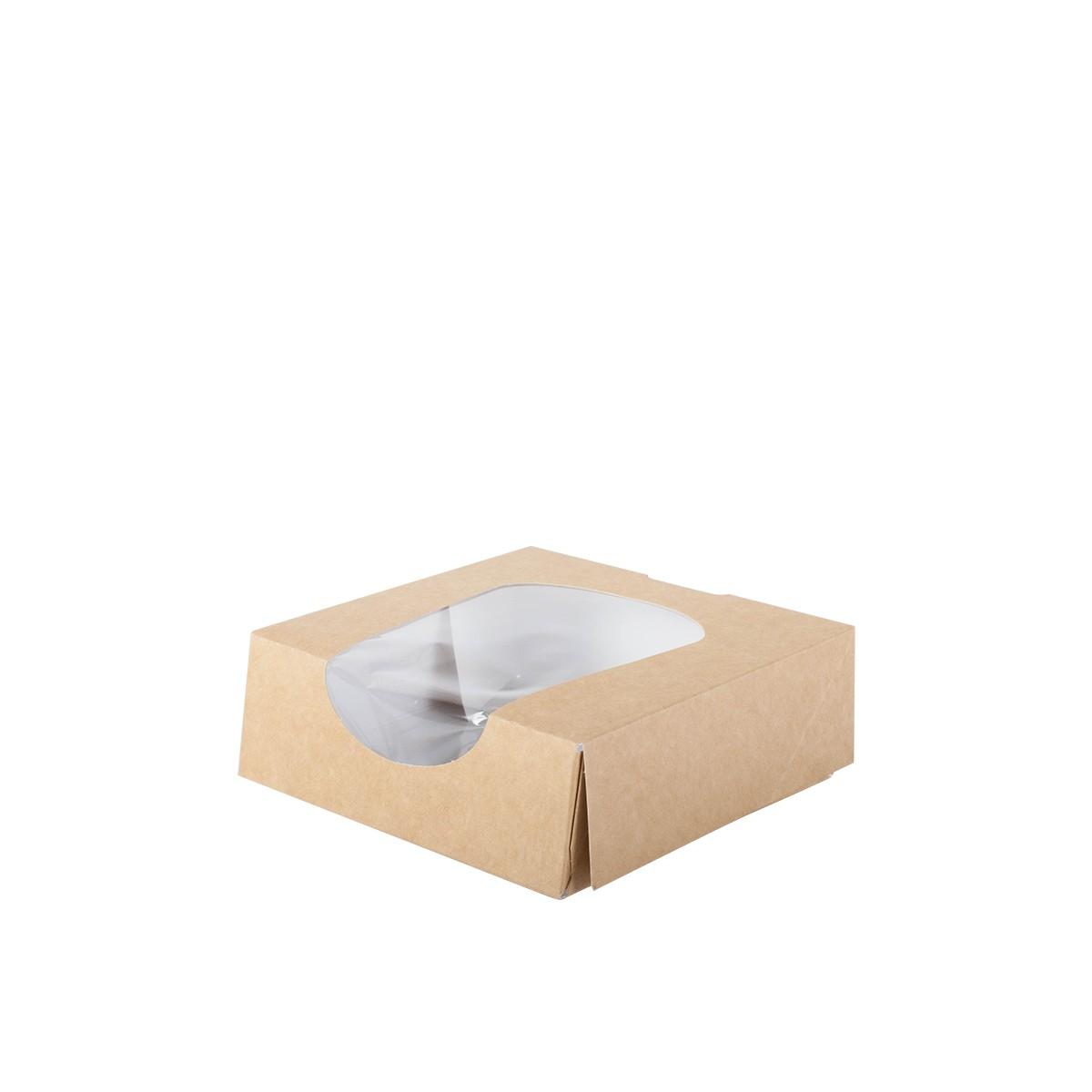 boite snacking carton avec fenetre