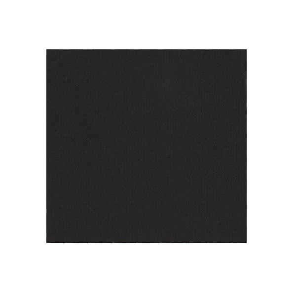 Serviette Cocktail CELI OUATE Noire Ebene 20x20 cm par 900