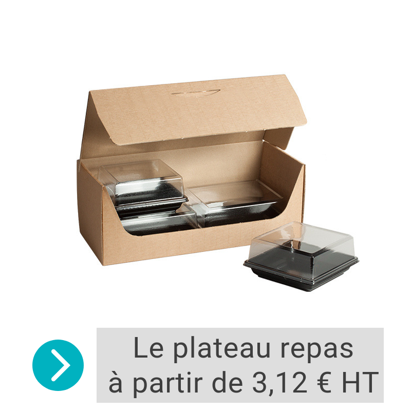 Coffret/Boîte Lunch CITY cannelure apparente