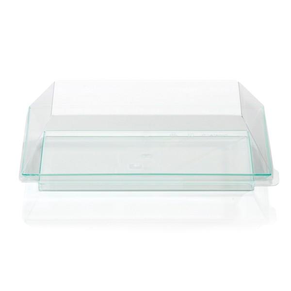 Couvercle pour assiette Jetable CUBIK 18 x 13 cm micro-ondes