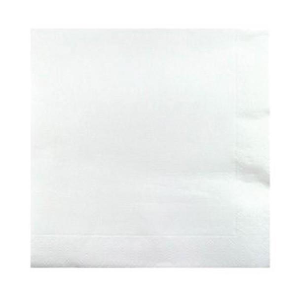 Serviette OUATE Blanche 24x24 cm