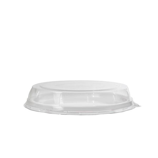 Couvercle transparent pour plateau jetable 30 cm