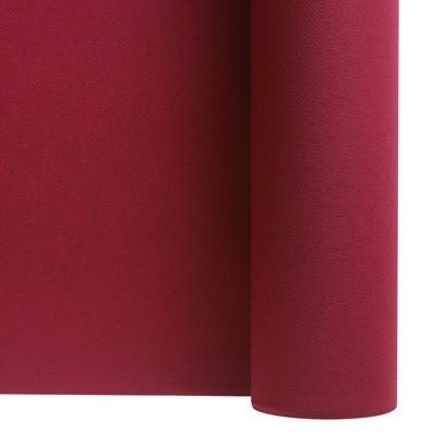 rouleau nappe intissée rouge bordeau