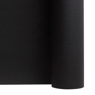 rouleau nappe intissée noire ébène