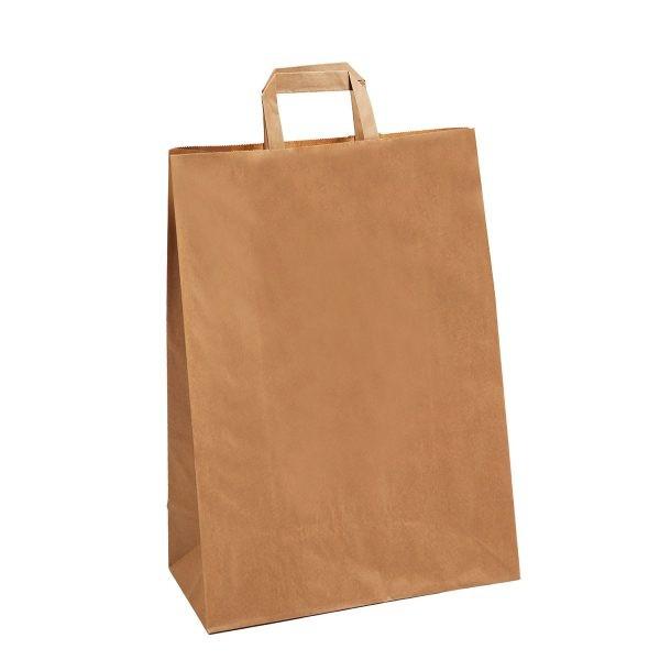 sac papier kraft pour la vente à emporter