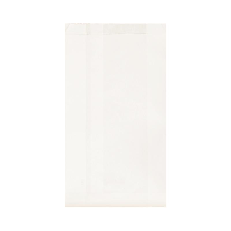 sachet kraft blanc plat 17x35 cm