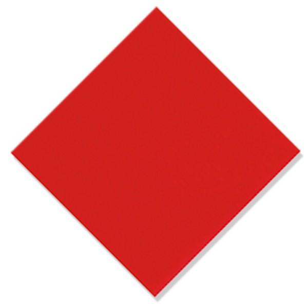 serviette intissée de qualité rouge