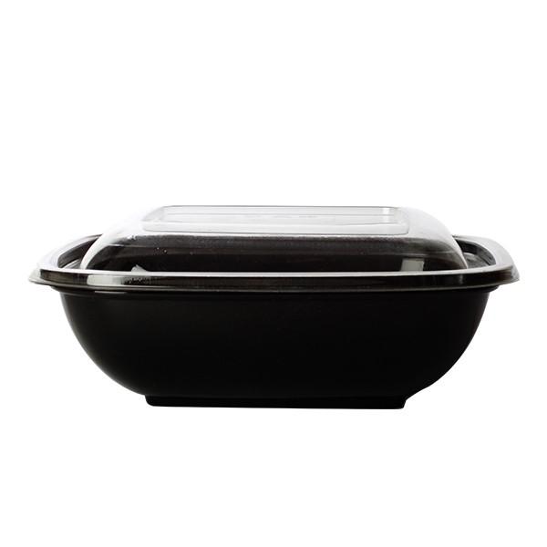 saladier carré noir 100 cl