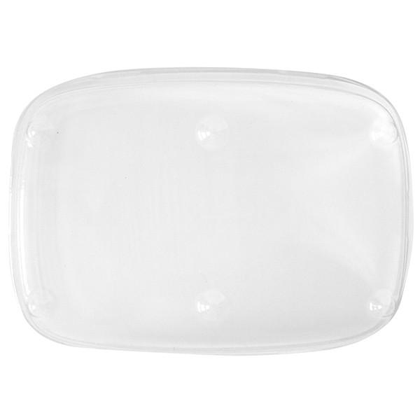 Couvercle Assiette Grand Modèle 18x13 cm Cristal U/ME