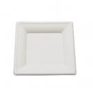 Assiette carrée CANNA 20 cm