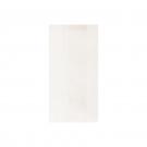 sachet kraft blanc plat