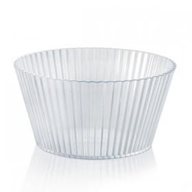 Verrine plastique jetable GRAPHIC Transparente 25 cl