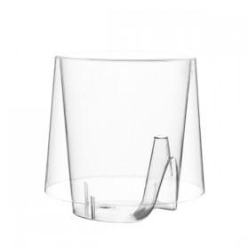 Grande tasse à café transparente 20 cl Lux By Starck