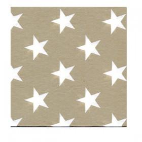 Serviette Américaine STAR beige 40x40 cm
