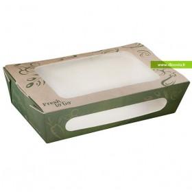Boîte salade kraft 650 ml