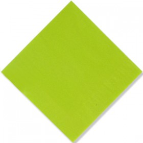 Serviette intissée GALA Lime verte 40 cm