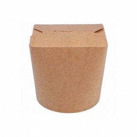 Pot à pâtes carton kraft 780 ml