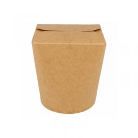 Pot à pâtes carton kraft 960 ml