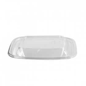 Couvercle cristal pour saladier carré 19 x 19 cm
