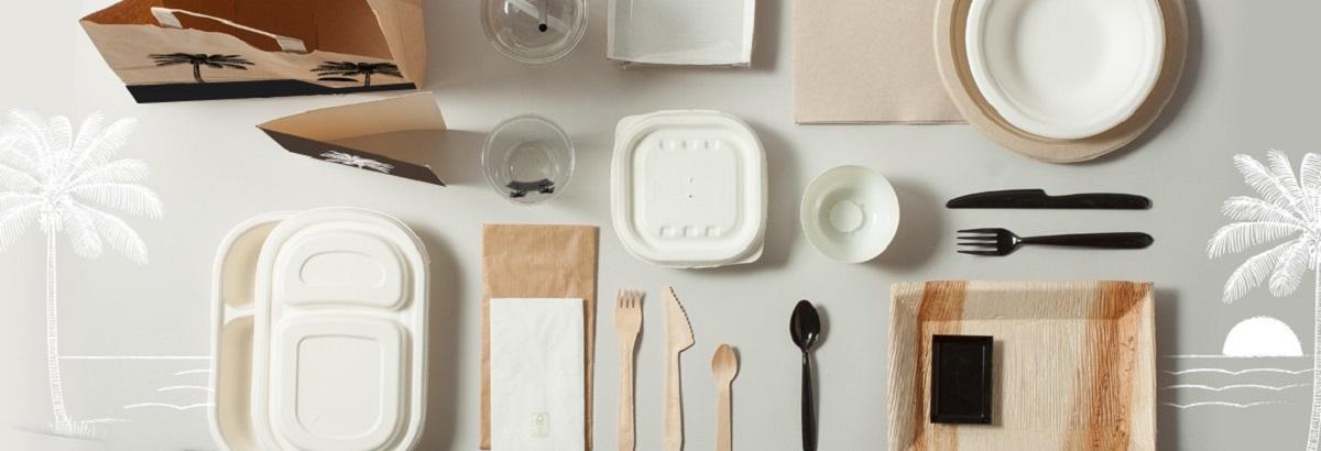 vaisselle biodegradable