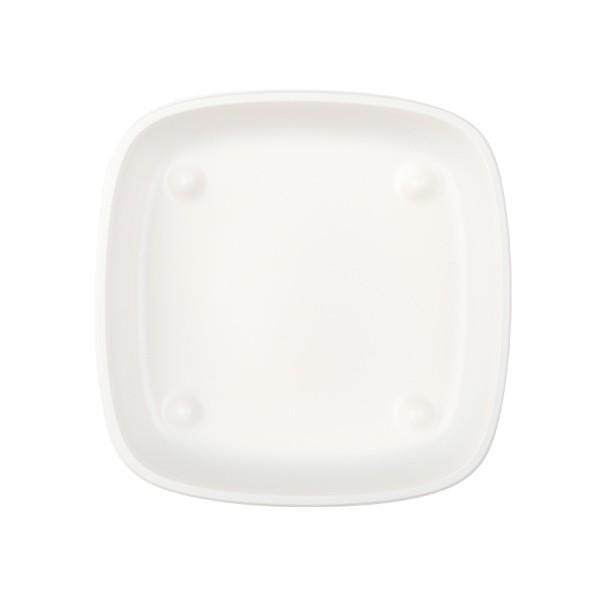assiette mm blanche