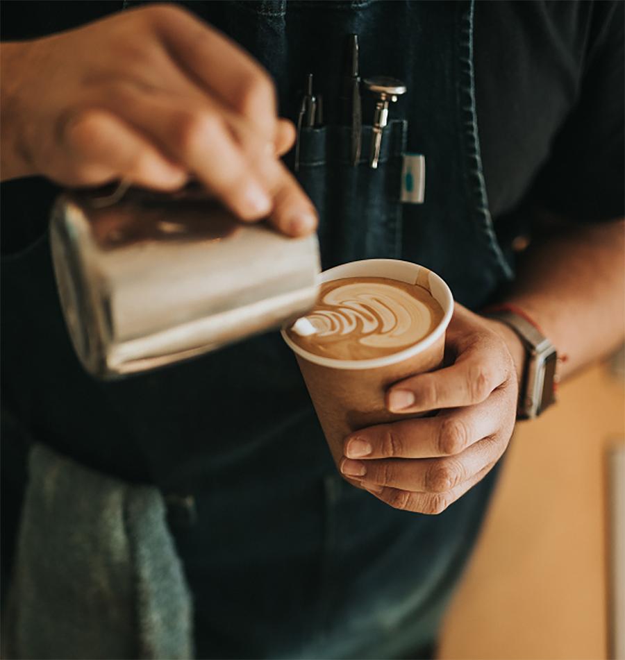 Gobelet carton café à emporter