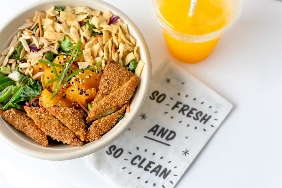 Emballage alimentaire livraison repas