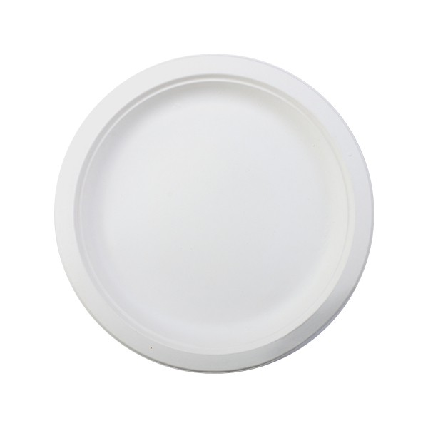 assiette canne a sucre biodegradable 18 cm