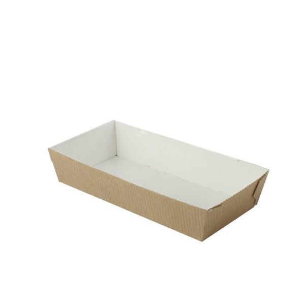 Barquette alimentaire carton 130x65