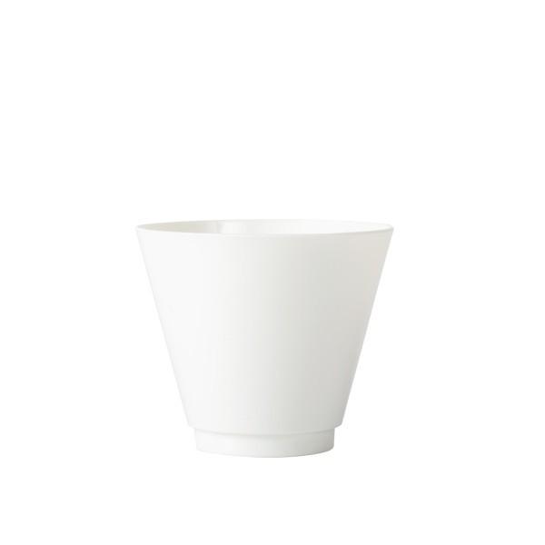 verrine blanche lavable et réutilisable