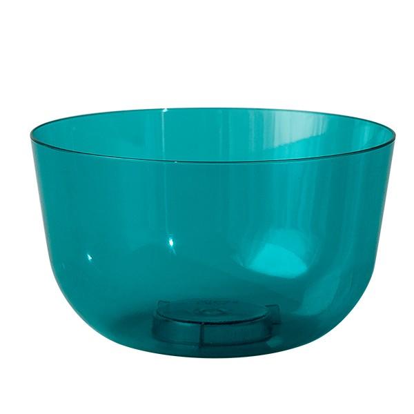 coupelle a dessert bleue turquoise