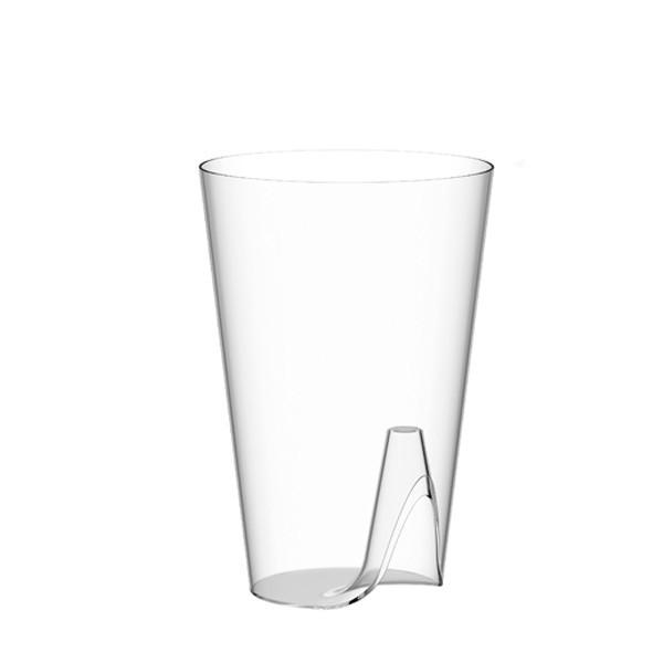 verre plastique jetable studio starck